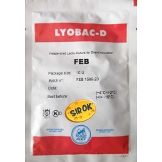 Мезофильно - термофильная закваска FEB на 1000 л. молока (Италия)